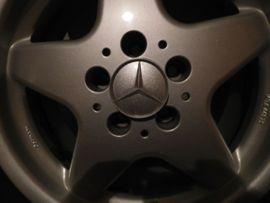 Bild 4 - Mercedes Alufelgen mit Bereifung 205 - Heilbronn Innenstadt