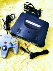 Nintendo N64 Spielekonsole komplett PAL