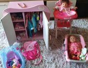 Puppen Sammlung baby born und