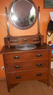 Spiegelkomode aus den 1800