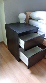 IKEA KULLEN Kommoden - schwarz 35x49