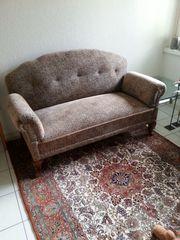 Antikes Ostfriesensofa restauriert in sehr