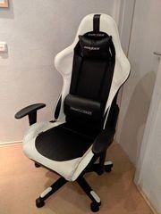 Gaming-Stuhl - DXRacer Fomula Serie Weiß-Schwarz