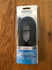 Video S-VHS Verlängerung 2m orignalverpackt