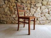 1 v 1 Holzstühle gebraucht