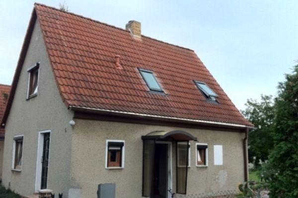 kleines Haus kleines Baugrundstück Werkstsatt