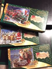3x Weihnachts - Puzzle s NEU