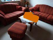 Couchgarnitur Polstermöbel Sofa Landhausstil
