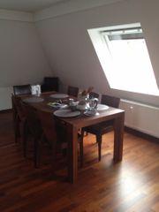 Wunderschöner Holztisch 6Stühle