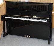 Klavier Yamaha U1 schwarz poliert