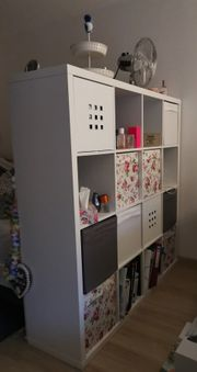 Ikea KALLAX Regal mit Boxen