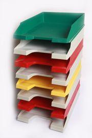 Aktenablagesystem Dokumenten Schreibtisch Brief Papierablage