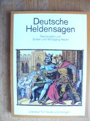 DEUTSCHE HELDENSAGEN - HECHT RÖMISCHE SAGEN -
