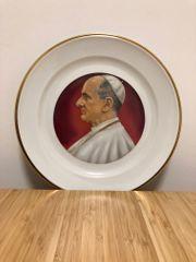 Zierteller Papst