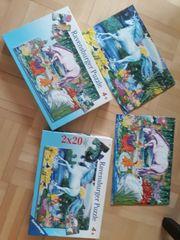 2 Pferdepuzzle 2x20 Teile Ravensburger