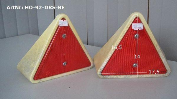 Dreiecksrückstrahler beige Hobby Wohnwagen 2