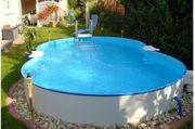 NEU POOL Komplettset Poolsystem Stahlwand