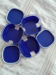 Tupperware Skyline blau transparent box