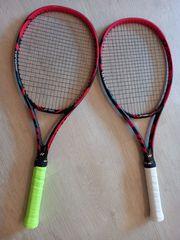 Zwei Yonex Tennischläger