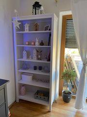 Zwei Bücherschränke Bücherregale IKEA Hemnes
