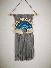 Makramee Wandbehang personalisiert