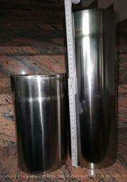 Edelstahl Rauchrohr Durchmesser 130mm 1