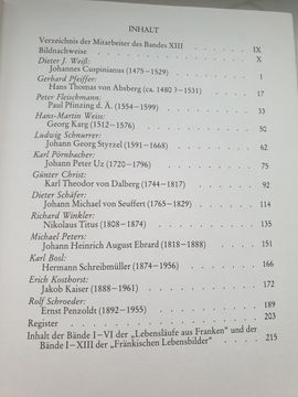Bild 4 - Vier Bände Fränkische Lebensbilder antiquarisch - Erlangen Büchenbach