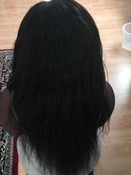 Kosmetik und Schönheit - haarverlängerung