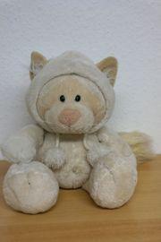 NICI Schneekatze Katze - 35 cm