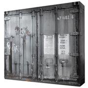 Kleiderschrank Josh Container-Optik 4 Türen