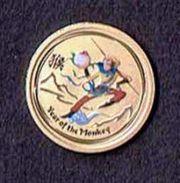 Goldmünze Lunar 1 20 oz