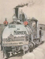 Bahn-Postkarten