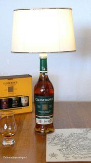 Tischlampe Whiskylampe Geschenkidee Dekoration