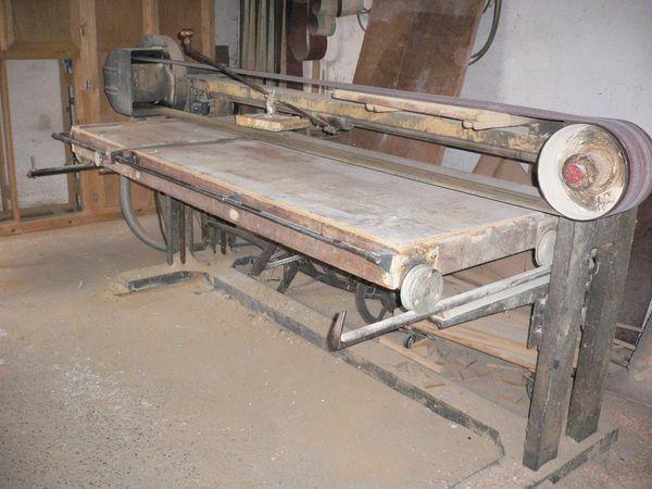 Langbandschleifmaschine
