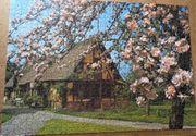 Puzzle 1000 Teile Frühlingsmotiv