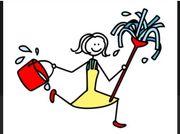 Putzfrau Reinigungshilfe gesucht