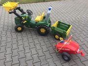 Rolly Toys Spielzeug Traktor groß