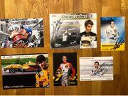 tolle Motorsport Autogrammsammlung