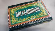 Backgammon Koffer Klee Spiele