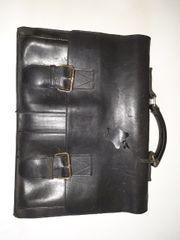 Offermann Aktentasche Leder schwarz