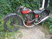 Gnome Rhone Oldtimer Motorrad 500