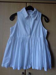 Mädchenbekleidung Bluse ohne Ärmel unterer