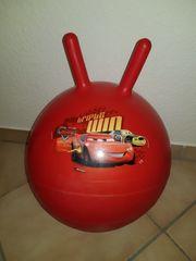 Hüpfball für Kinder rot Cars