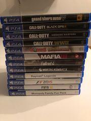 Playstation 4 PS4 Konsole 12Spiele
