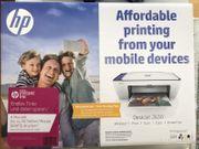 HP Printer DeskJet 2630 unbenutzt