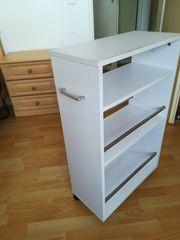 Küchen-Rollschrank weiß