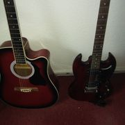 Gebe Gitarrenunterricht Stunde 15 Euro