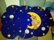 Kinderzimmerlampe mit schlummerlicht