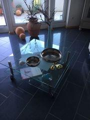 Italienischer Glastisch