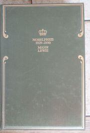 Nobelpreis für Literatur 1929 und
